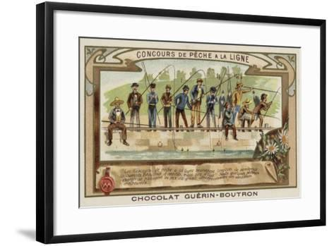 Angling Competition--Framed Art Print