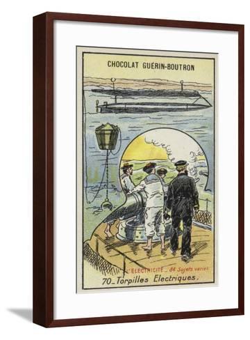 Electric Torpedoes--Framed Art Print