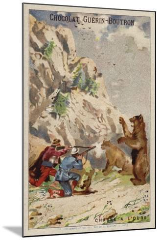 Hunting Bears--Mounted Giclee Print