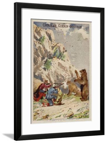 Hunting Bears--Framed Art Print