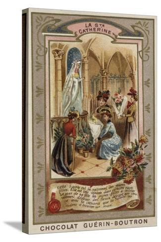 St Catherine's Day--Stretched Canvas Print