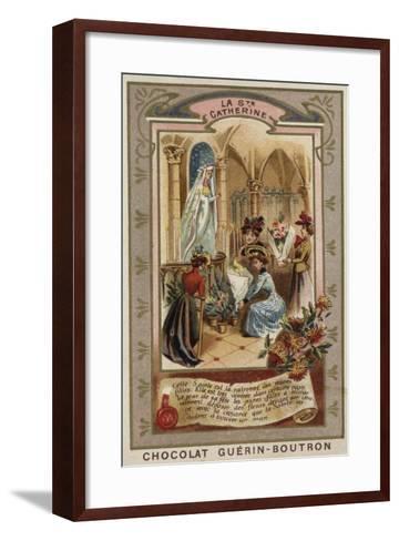 St Catherine's Day--Framed Art Print