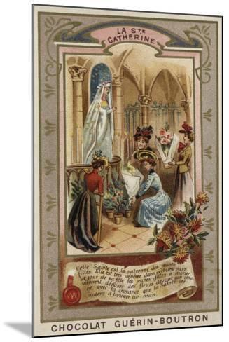 St Catherine's Day--Mounted Giclee Print