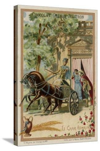 Roman Chariot--Stretched Canvas Print