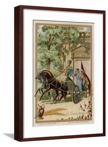 Roman Chariot--Framed Art Print