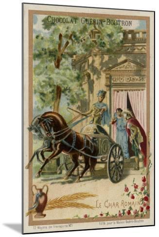 Roman Chariot--Mounted Giclee Print