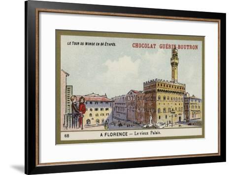 The Uffizi, Florence--Framed Art Print