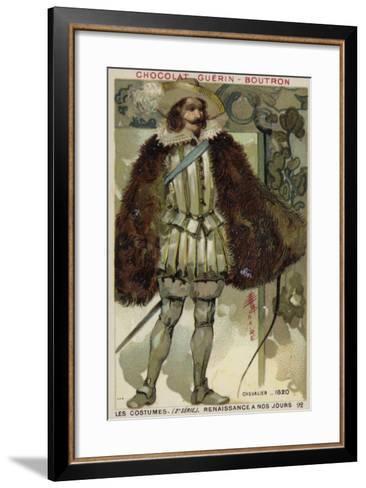Knight, 1620--Framed Art Print