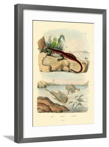 Basilisk, 1833-39--Framed Art Print