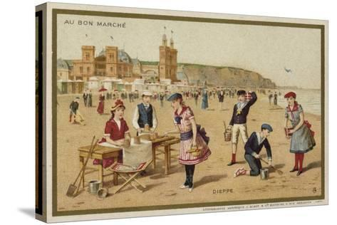 Dieppe, France--Stretched Canvas Print