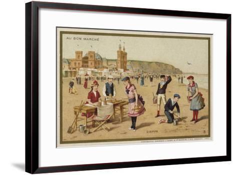 Dieppe, France--Framed Art Print