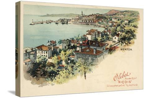 Menton, France--Stretched Canvas Print