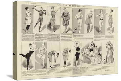 Callisthenie--Stretched Canvas Print