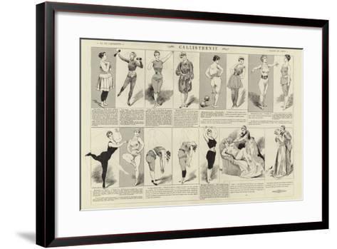 Callisthenie--Framed Art Print
