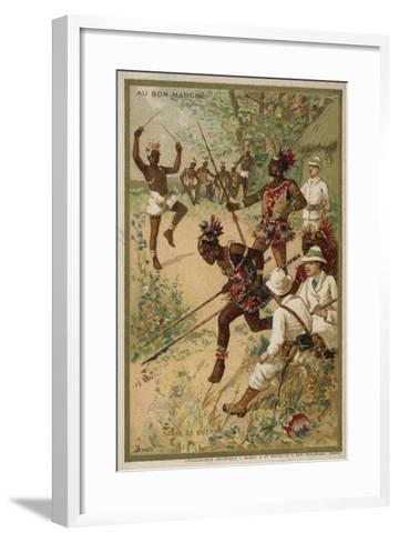 War Dance--Framed Art Print