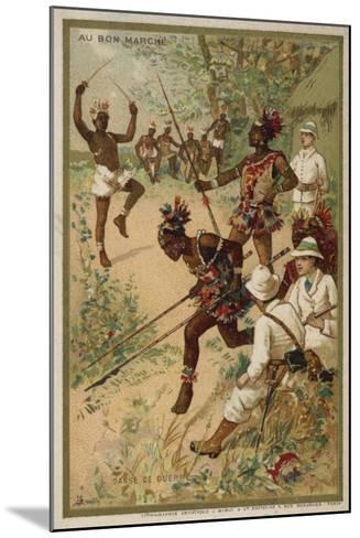 War Dance--Mounted Giclee Print