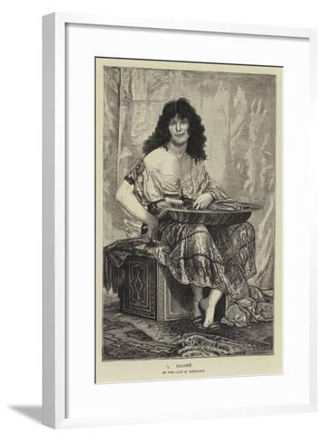 Salome--Framed Art Print