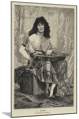 Salome--Mounted Giclee Print