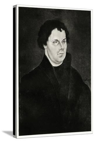Martin Luther, 1884-90--Stretched Canvas Print