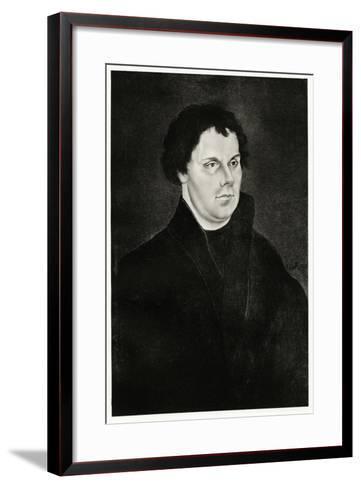 Martin Luther, 1884-90--Framed Art Print