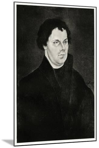 Martin Luther, 1884-90--Mounted Giclee Print