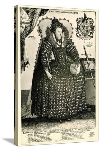 Elisabeth I., 1884-90--Stretched Canvas Print