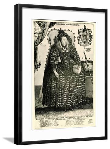 Elisabeth I., 1884-90--Framed Art Print