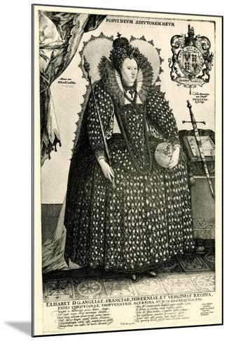 Elisabeth I., 1884-90--Mounted Giclee Print