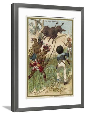 The Bison--Framed Art Print