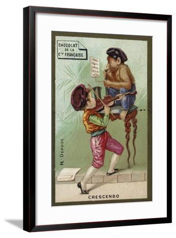 Crescendo--Framed Art Print