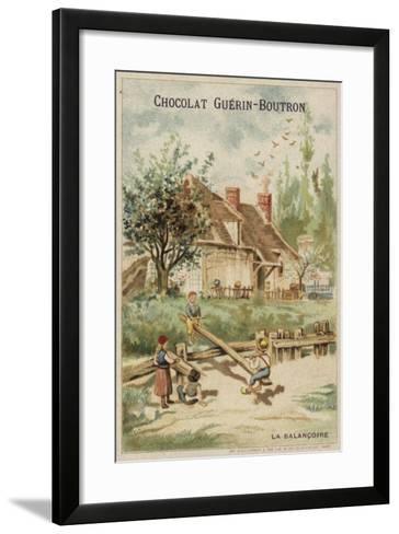 Seesaw--Framed Art Print