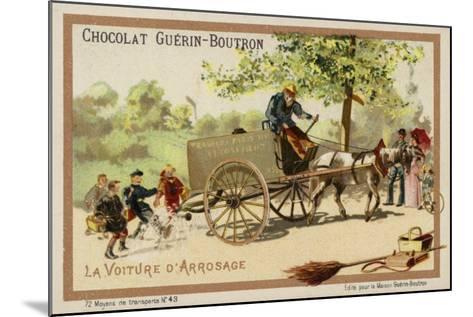 Watercart--Mounted Giclee Print