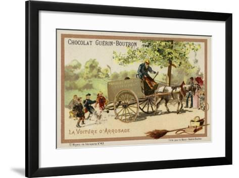 Watercart--Framed Art Print