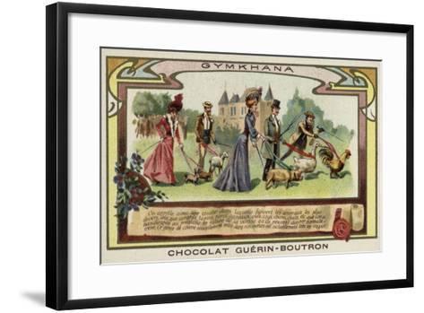 Gymkhana--Framed Art Print