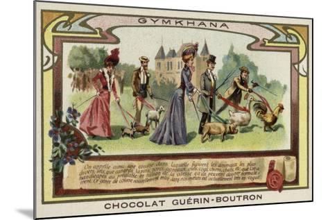 Gymkhana--Mounted Giclee Print