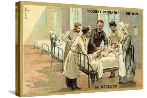 Medicine--Stretched Canvas Print
