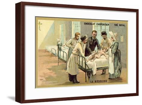Medicine--Framed Art Print