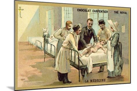 Medicine--Mounted Giclee Print