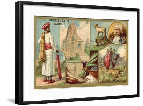 India--Framed Art Print