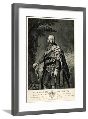 Hans Joachim Von Zieten, 1884-90--Framed Art Print