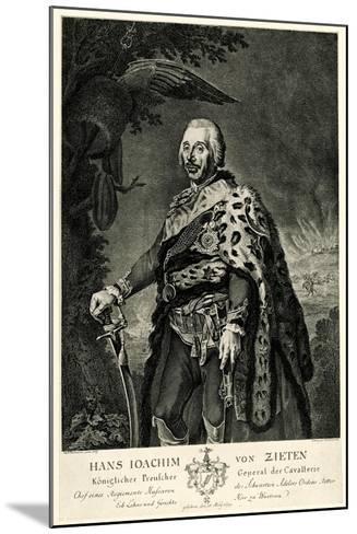 Hans Joachim Von Zieten, 1884-90--Mounted Giclee Print