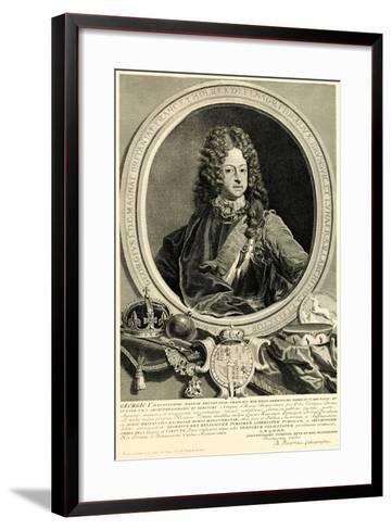 Georg I., 1884-90--Framed Art Print
