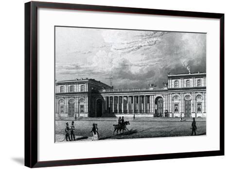 The Prinz-Albrecht-Palais, 1833--Framed Art Print