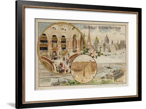 Paris--Framed Art Print