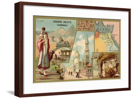 Egypt--Framed Art Print
