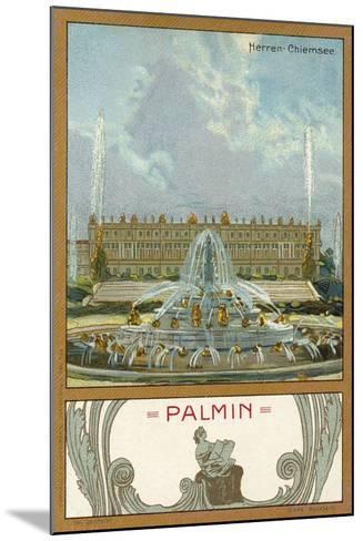 Herrenchiemsee Palace, Bavaria--Mounted Giclee Print