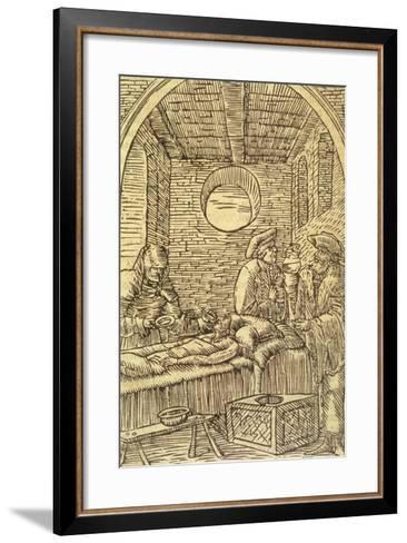 Administering Medicinal Herbs, 1534--Framed Art Print
