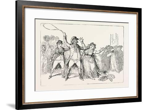 Gaol at Lewes, in Which the Russian Prisoners are Confined, 1854--Framed Art Print