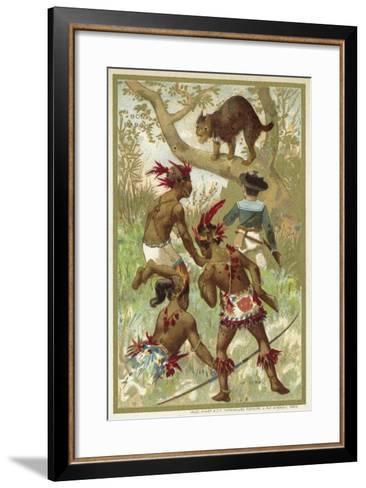 The Lynx--Framed Art Print
