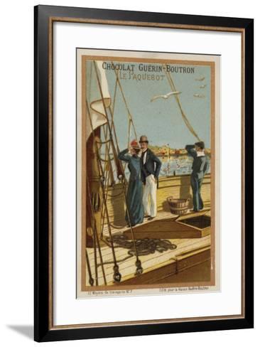Ship--Framed Art Print